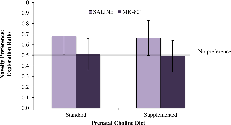 Figure 4 from Prenatal Choline Supplementation and MK-801