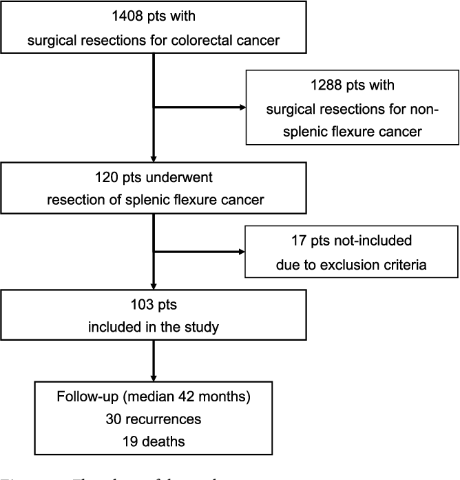 Pdf Treatment Of Splenic Flexure Colon Cancer A Comparison Of Three Different Surgical Procedures Experience Of A High Volume Cancer Center Semantic Scholar