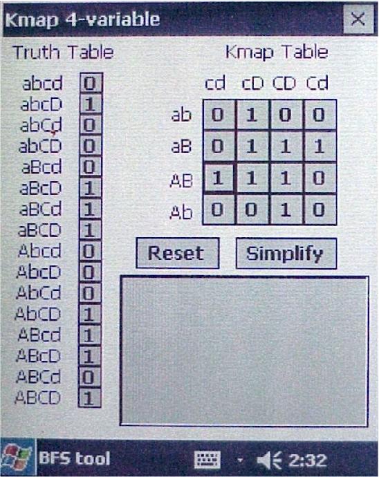 PDF] POCKET-PC BOOLEAN FUNCTION SIMPLIFICATION - Semantic