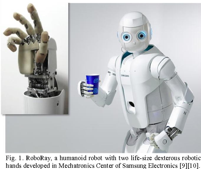 RoboRay hand: A highly backdrivable robotic hand with
