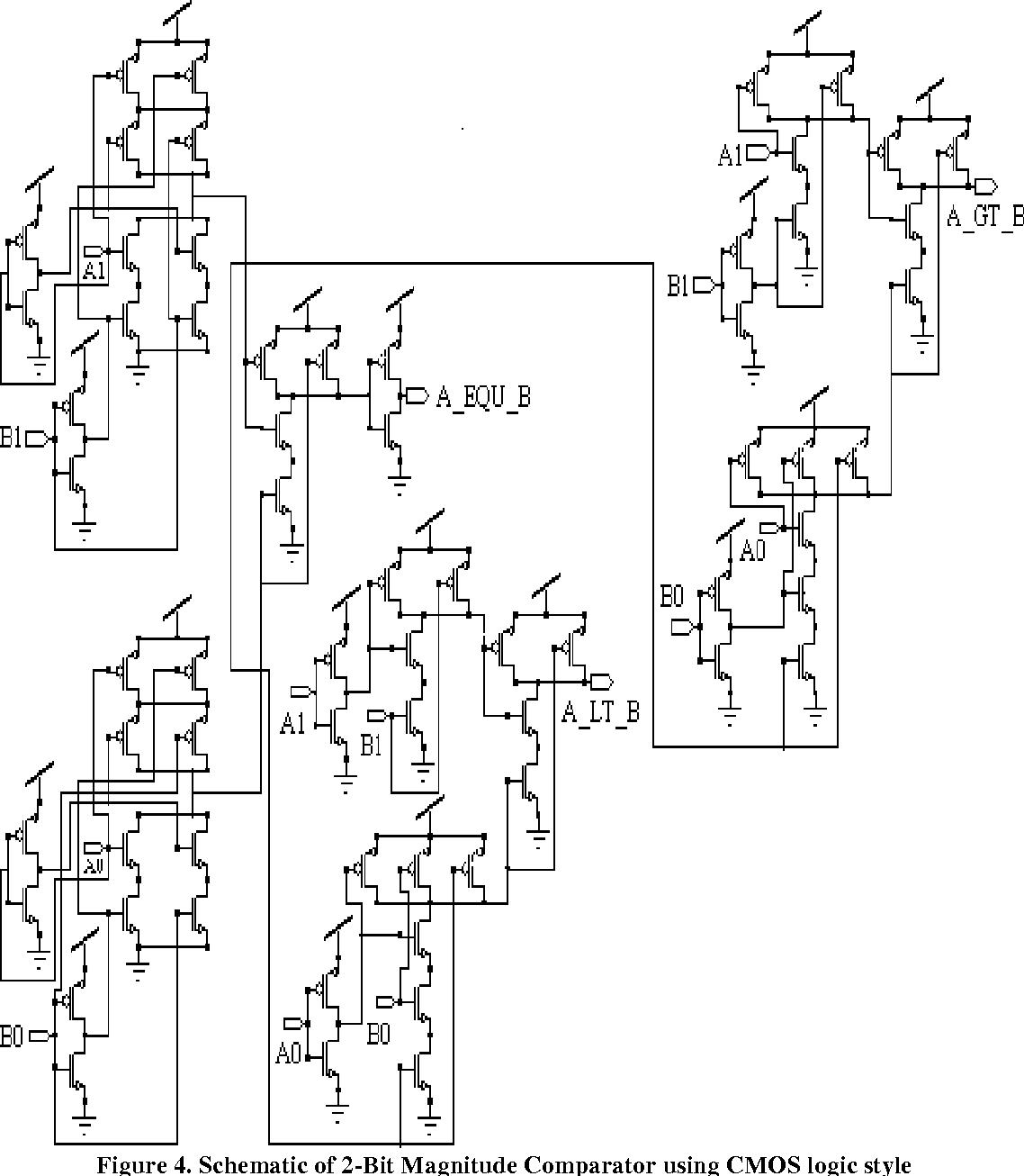 PDF] 2-Bit Magnitude Comparator Design Using Different Logic Styles on