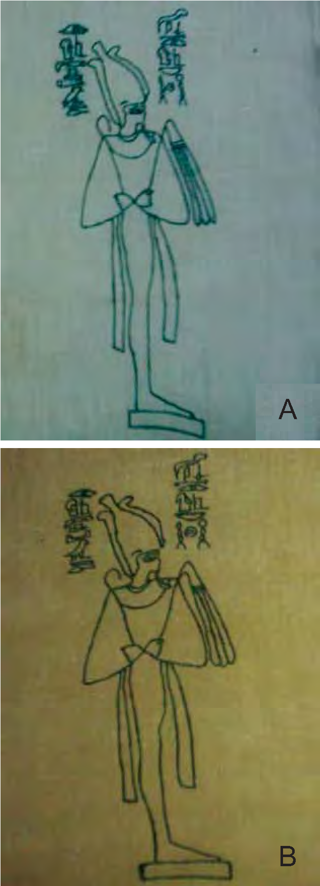 PDF] CONSERVATION OF A RARE PAINTED ANCIENT EGYPTIAN TEXTILE
