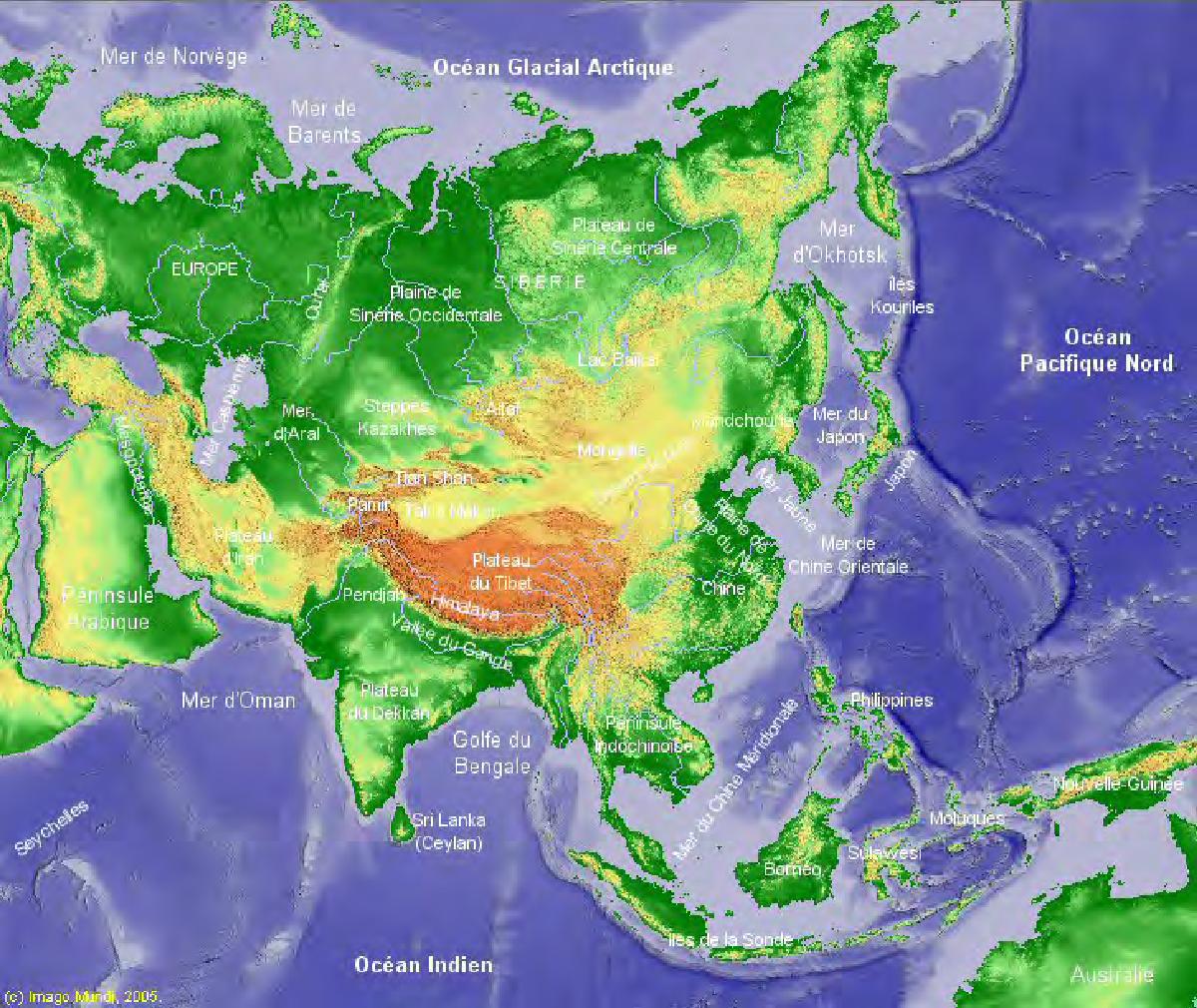 Carte Geo De Lasie.Figure 1 1 From Histoire Du Peuplement De L Asie Orientale