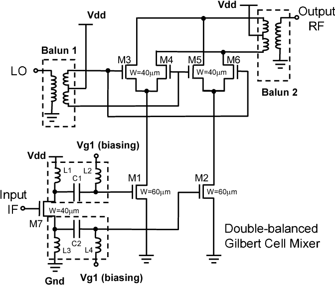 Figure 1 from 50GHz Double-Balanced Up-Conversion Mixer