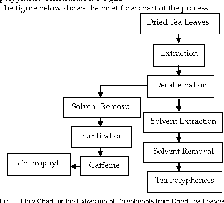 Figure 1 From Extraction Of Polyphenols From Dried Tea Leaves Semantic Scholar