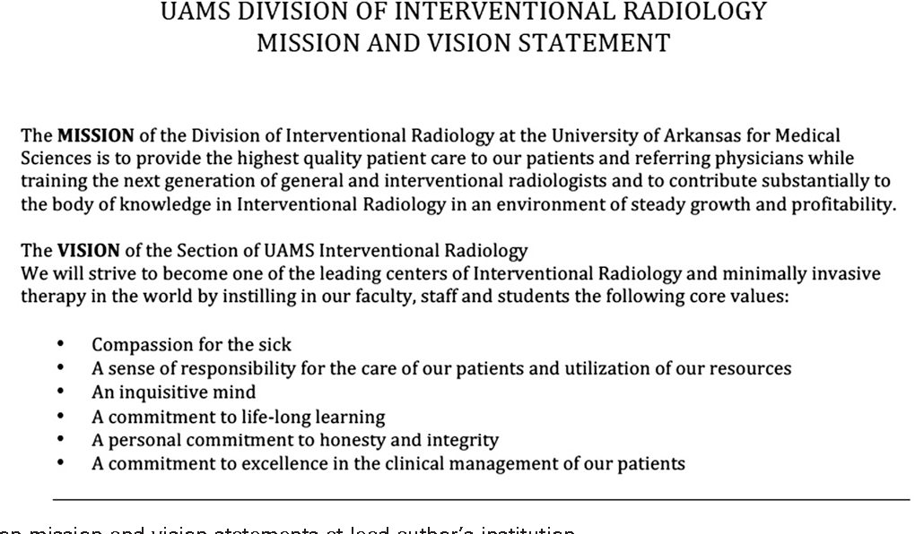 interventional radiology business plan