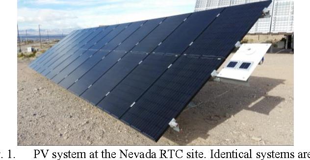 Application of IEC 61724 Standards to Analyze PV System ...