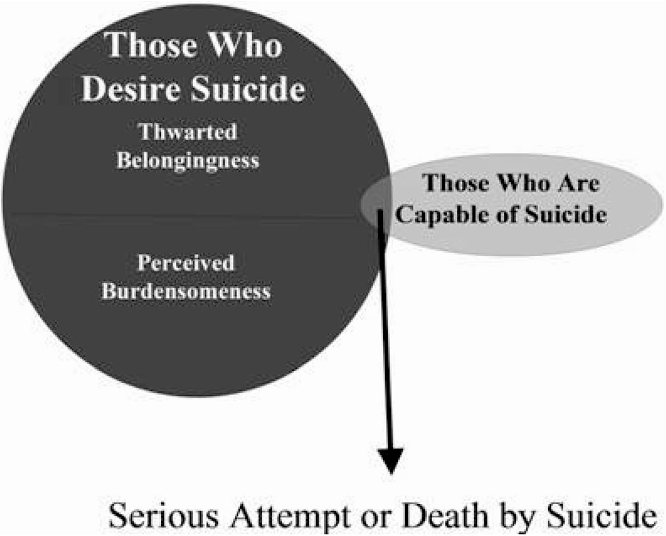 The Interpersonal-Psychological Theory of Attempted and Completed Suicide