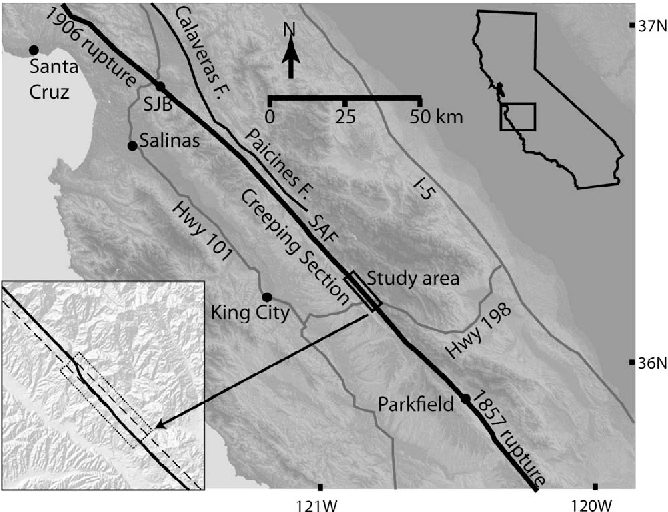PDF] Fault zone structure from topography: Signatures of en ...