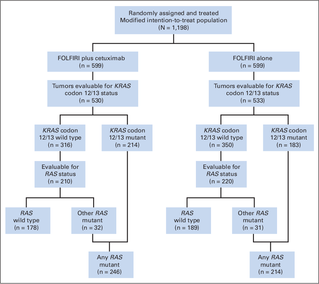 Pdf Fluorouracil Leucovorin And Irinotecan Plus Cetuximab Treatment And Ras Mutations In Colorectal Cancer Semantic Scholar