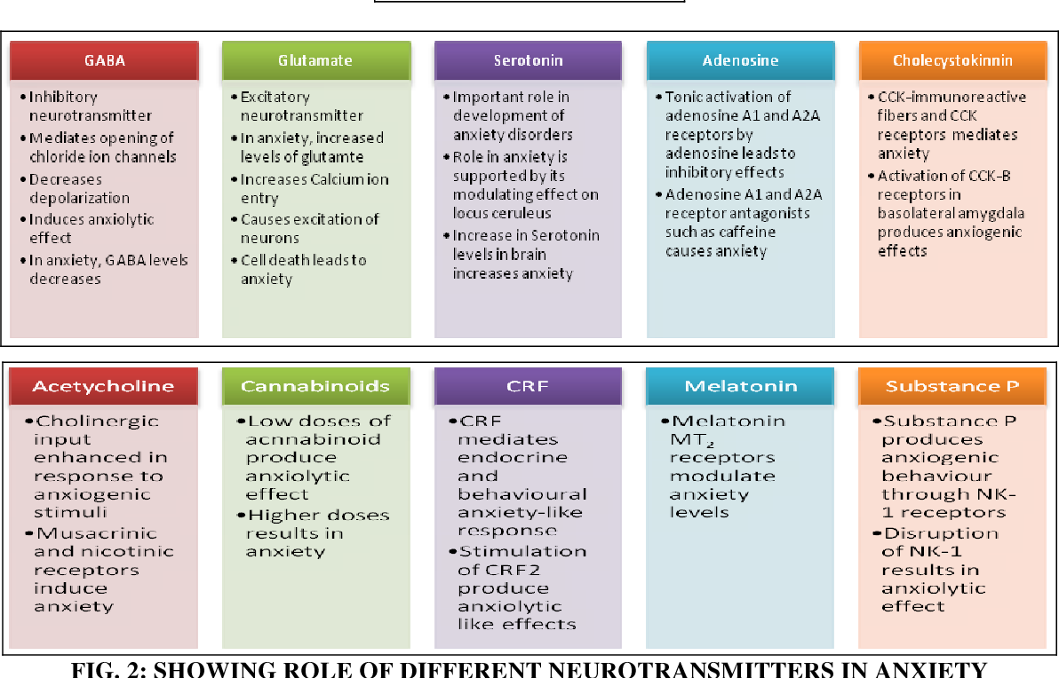 Figure 2 from ROLE OF DIFFERENT NEUROTRANSMITTERS IN ...