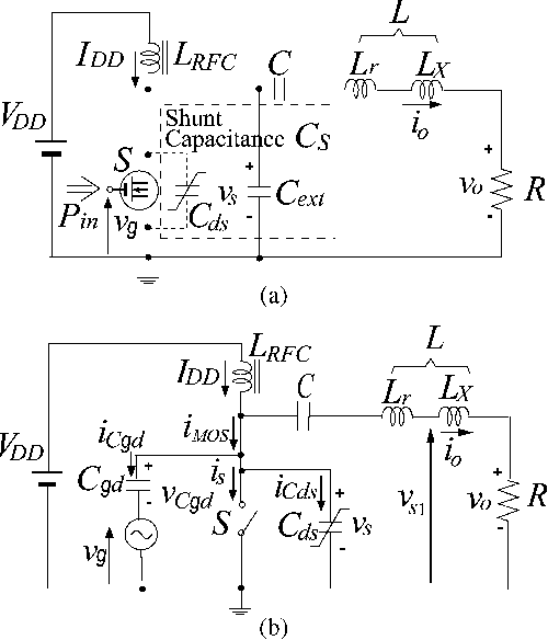 Design of Class-E Amplifier With MOSFET Linear Gate-to-Drain