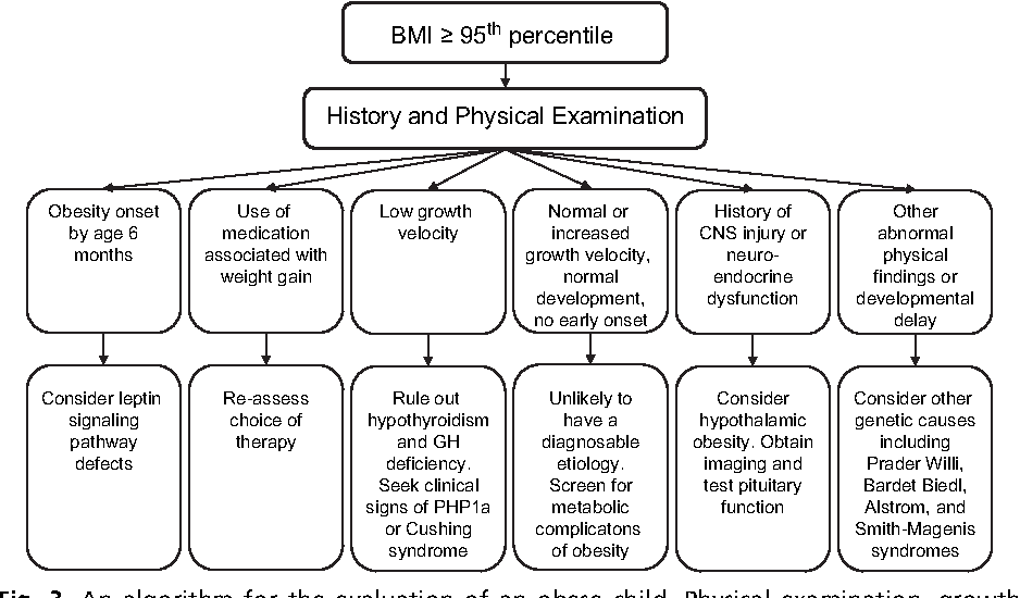 Figure 3 From Pediatric Obesity Etiology And Treatment Semantic Scholar