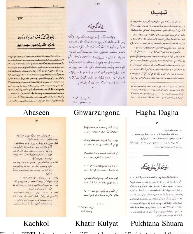 Figure 1 from KPTI: Katib's Pashto Text Imagebase and Deep