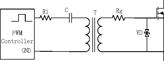 figure 4 from design and simulation of gate driver circuit using pulse transformer