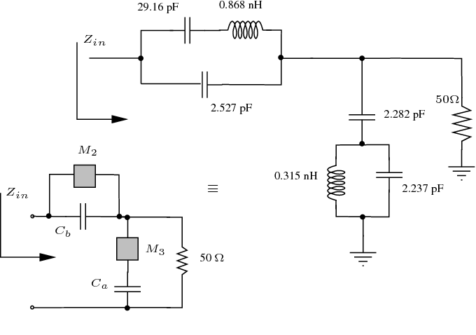 A design methodology for concurrent impedance matching