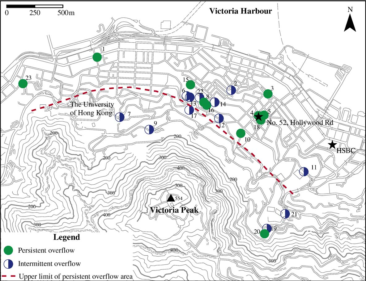 Figure 1 from Confined groundwater near the rockhead in ...