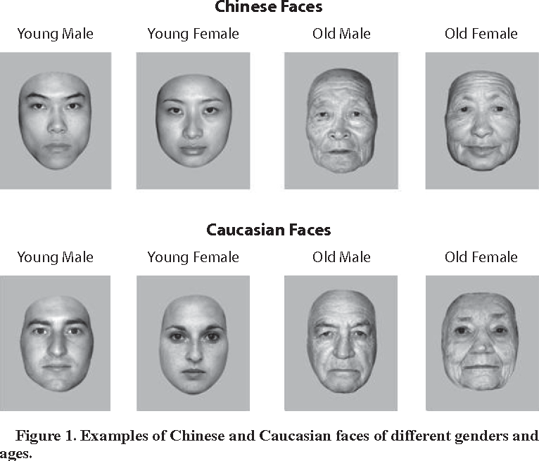 Figure 1 from Own- and other-race categorization of faces by
