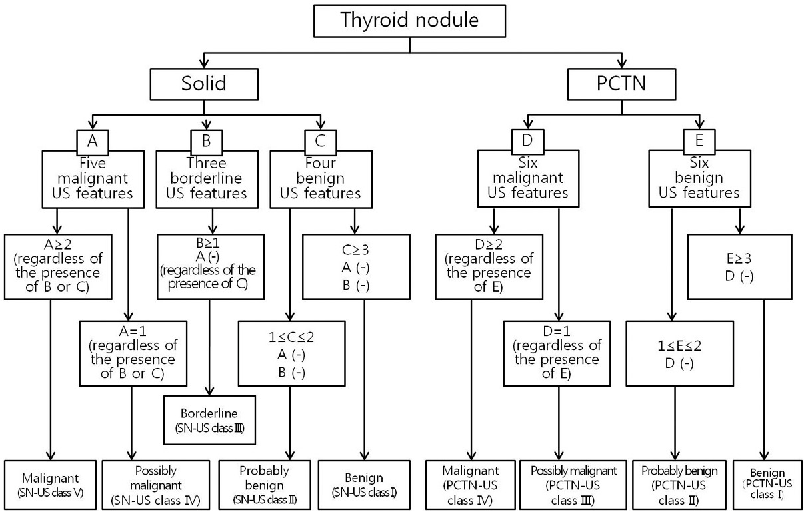 Pdf Ultrasound Based Diagnostic Classification For Solid And Partially Cystic Thyroid Nodules Semantic Scholar