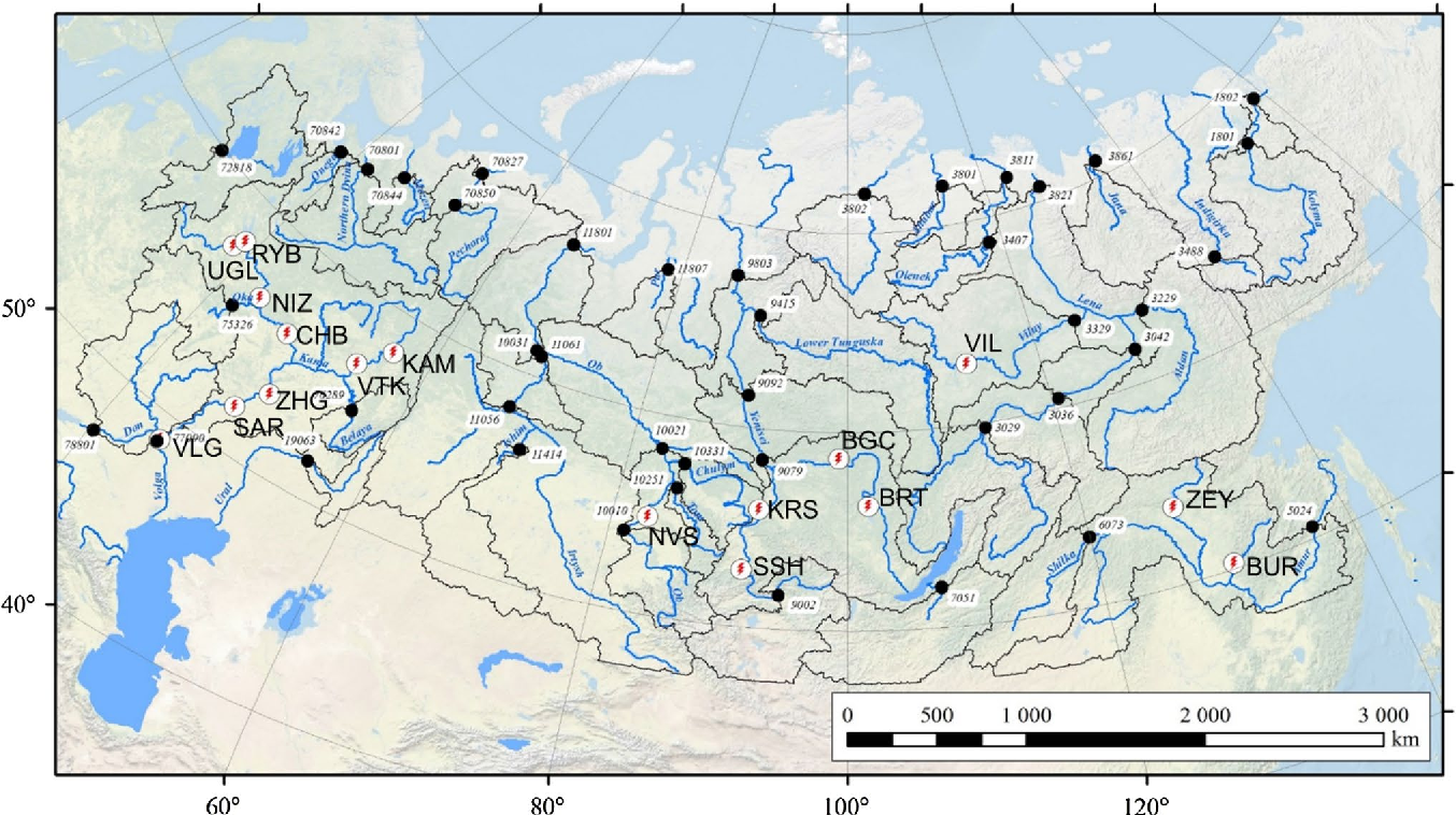 Future changes in peak river flows across northern Eurasia ...