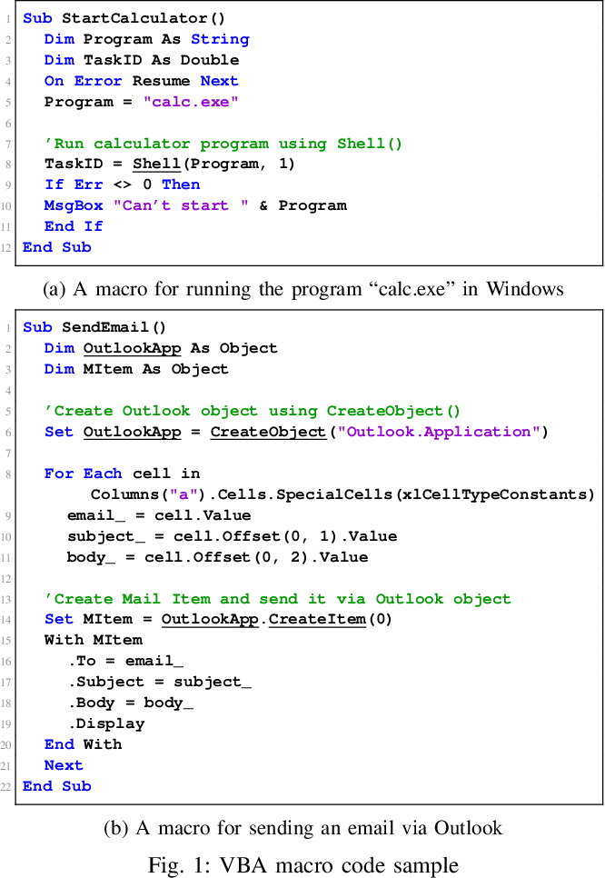 Obfuscated VBA Macro Detection Using Machine Learning