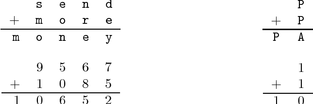 Figure 1 from Enumerating Cryptarithms Using Deterministic