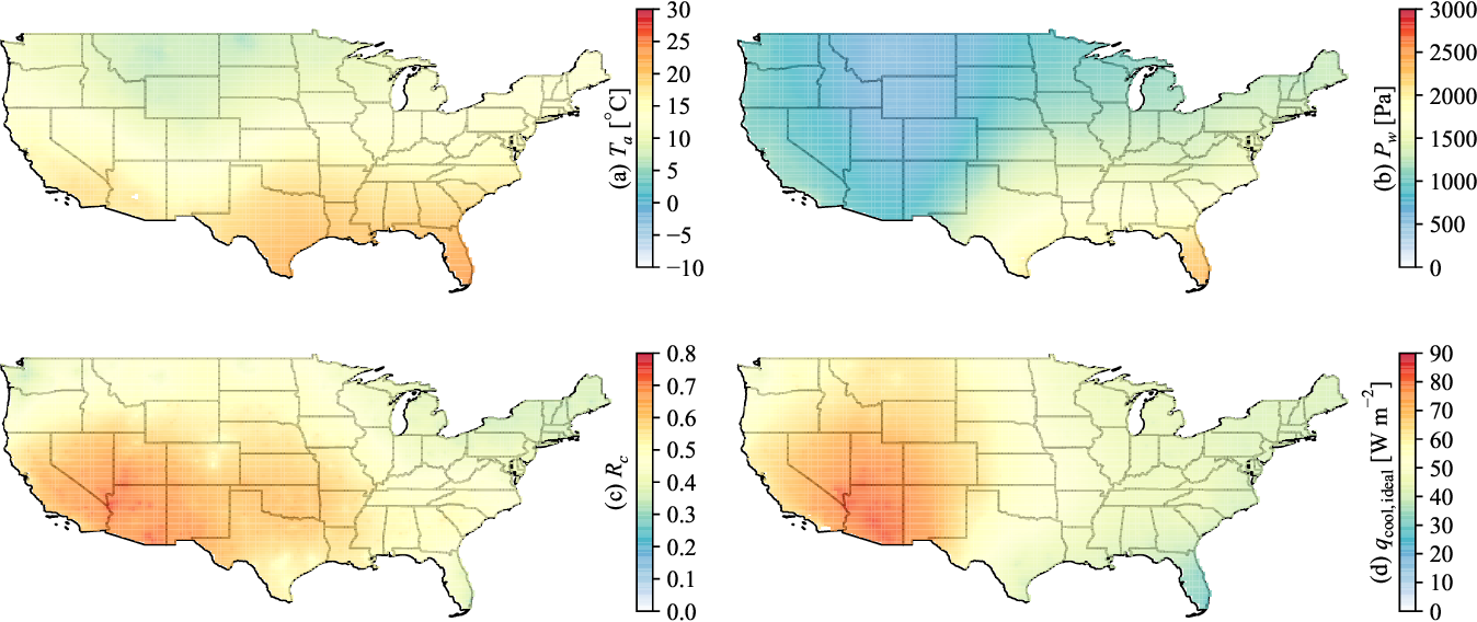 PDF] Radiative cooling resource maps for the contiguous ...