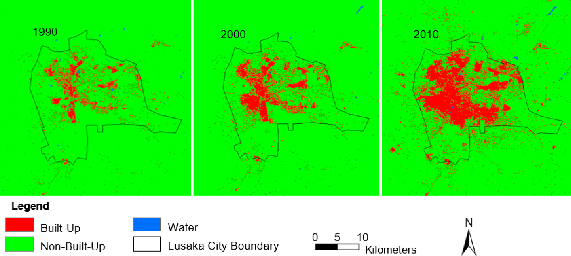 Figure 5 from Integrating Geospatial Techniques for Urban Land Use on the jungle in africa on map, africa climate map, atlas mountains africa physical map,