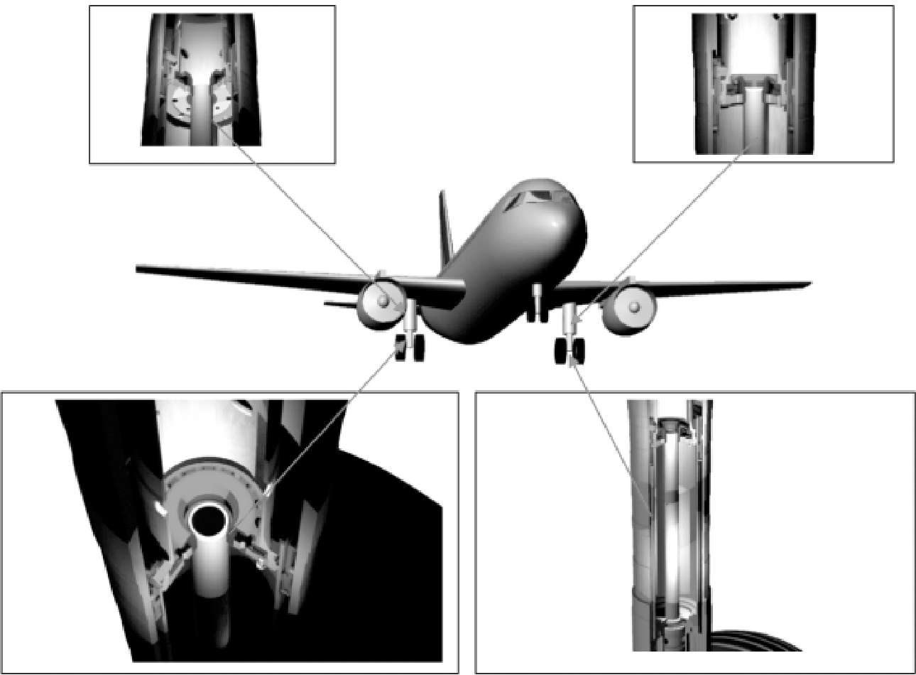 Figure 4 from Numerical Simulation of Landing Aircraft