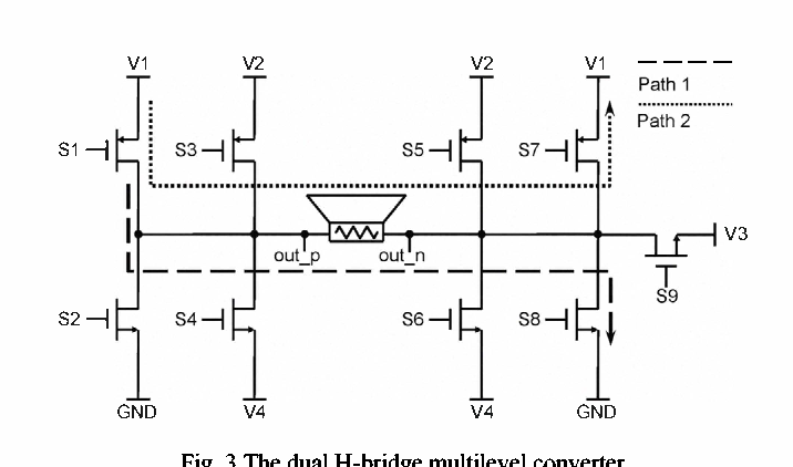 Sliding-switching power supply circuit for class-D audio