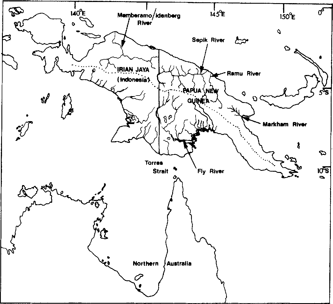 Figure I from Fish ecology and management of the Sepik-Ramu