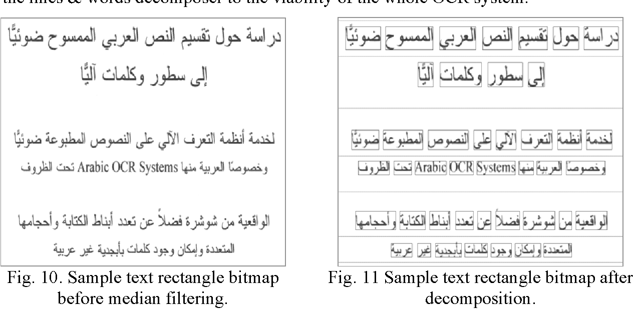 Figure 11 from ARABIC OCR SYSTEM ANALOGOUS TO HMM-BASED ASR