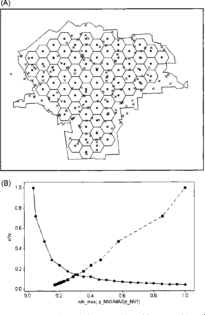 Effective Geographic Sample Size in the Presence of Spatial