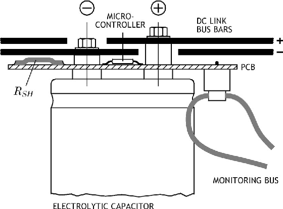 Life-Cycle Monitoring and Voltage-Managing Unit for DC-Link