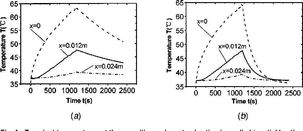 PDF] Analytical study on bioheat transfer problems with spatial or ...