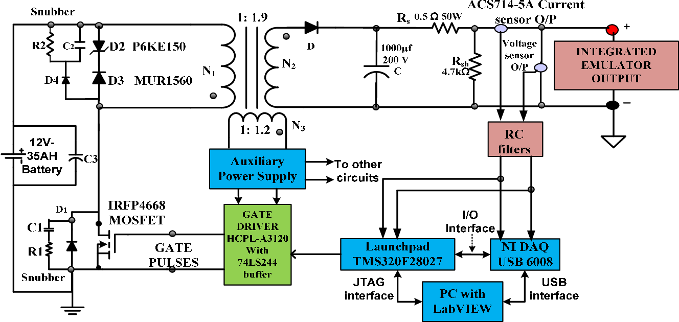 Solar Panel To Battery Switch Circuit Schematic