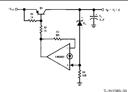 Figure 28 from The LM 3900 : A New Current-Differencing Quad ... on