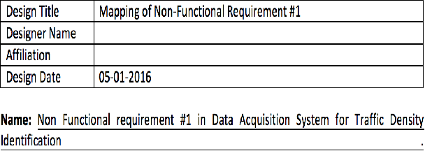Non Functional Requirement Analysis In Iot Based Smart Traffic Management System Semantic Scholar
