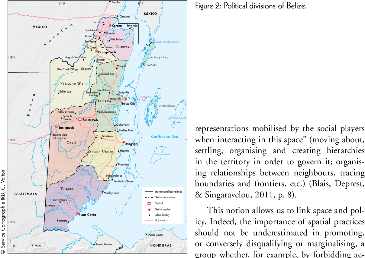 British Honduras The Invention Of A Colonial Territory Mapping And Spatial Knowledge In The 19th Century Semantic Scholar