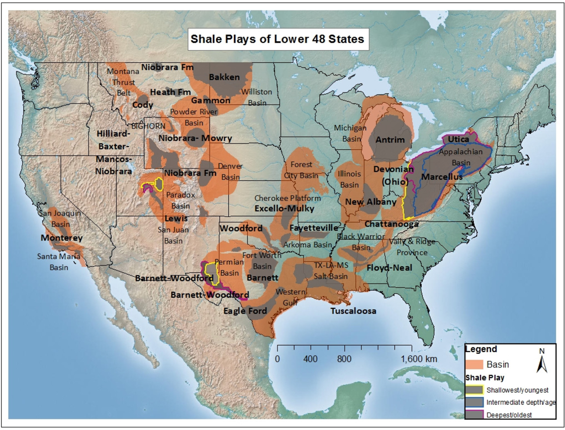 Figure 1 from The Effects of Shale Gas Exploration and