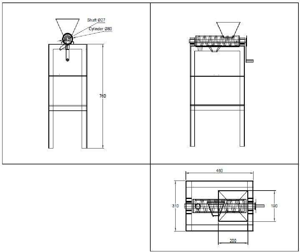 Design, Fabrication and Testing of a Manual Juice Extractor for ...