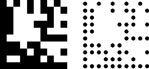 A Scanning Method for Dotted Data Matrix - Semantic Scholar