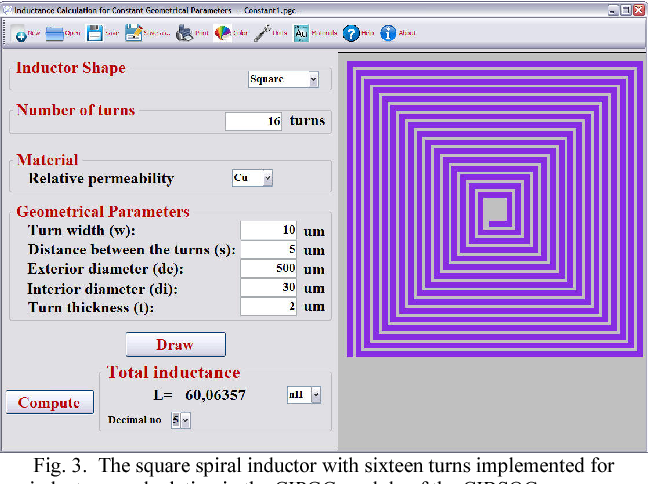 Figure 3 from Inductance calculation and layout optimization