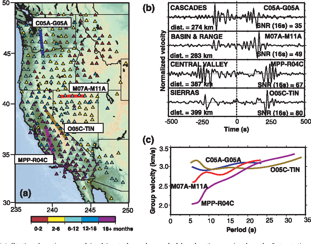 Figure 1 from Surface wave tomography of the western United