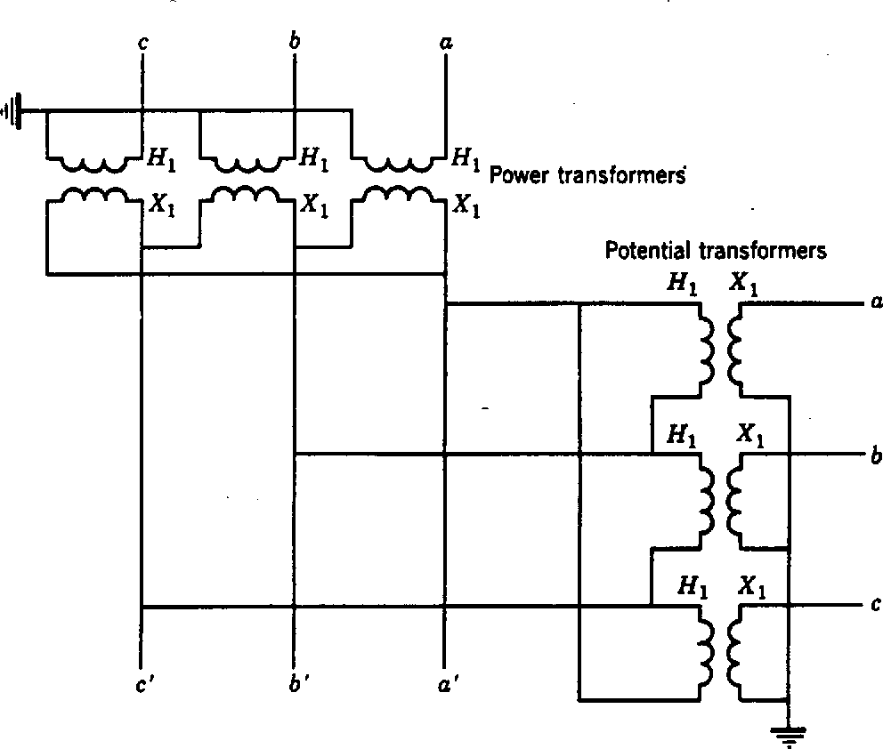 Voltage Potential Transformer Wiring Diagram On Wiring Diagram For