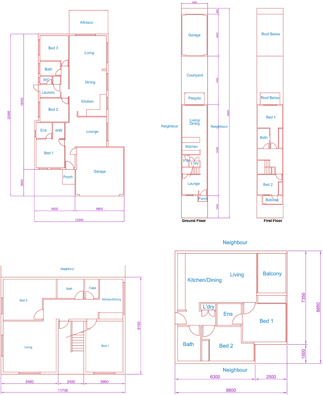 Figure 2 From Modelling Housing Typologies For Urban Redevelopment
