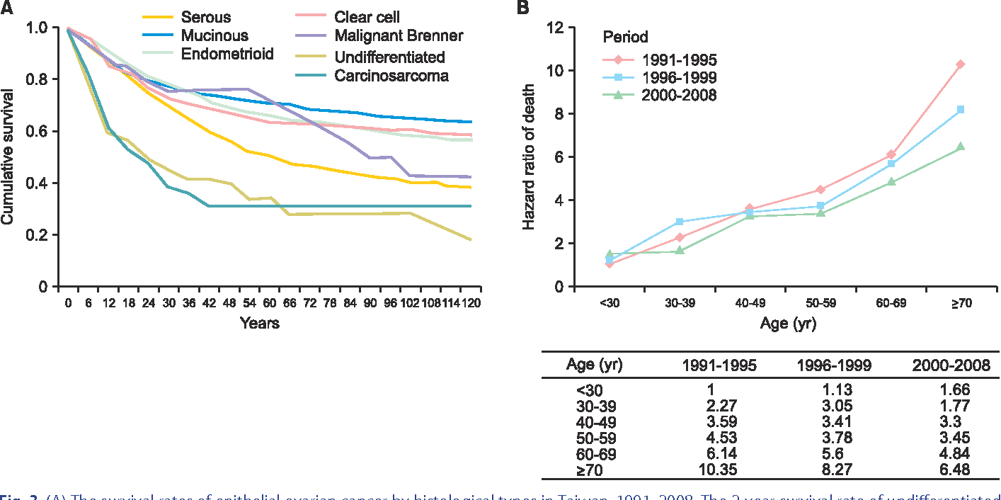 Figure 3 From Trends In Incidence And Survival Outcome Of Epithelial Ovarian Cancer 30 Year National Population Based Registry In Taiwan Semantic Scholar