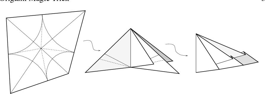 Origami Ninja Star (a.k.a. Pinwheel, or Magic Circle ... | 318x892