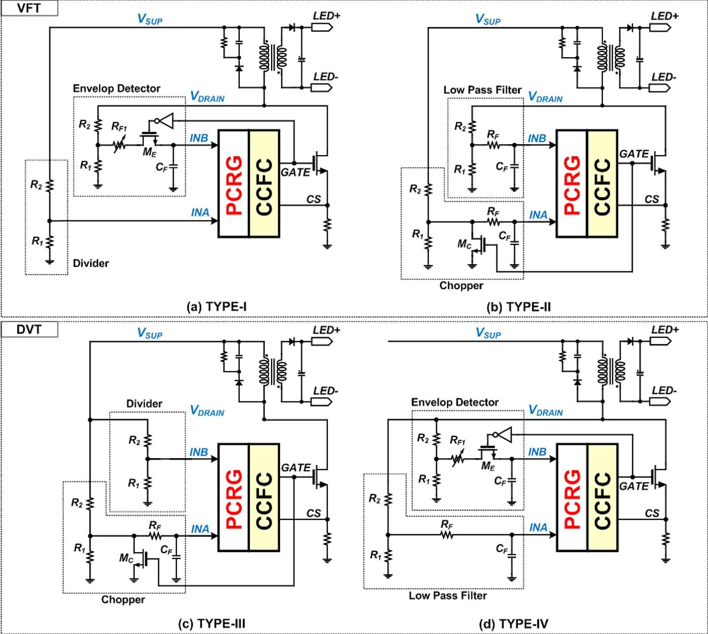 Dimmer For Led Circuit Diagram