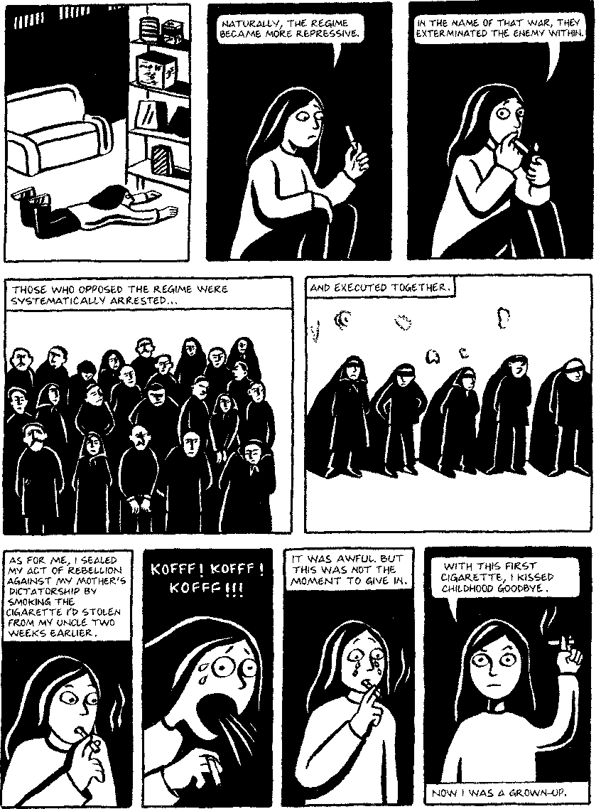Pdf The Texture Of Retracing In Marjane Satrapi S Persepolis Semantic Scholar
